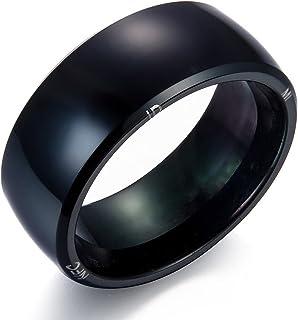 Liebeye ブレスレット おしゃれ 多機能 NFC インテリジェント リング スマートデジタル リング アメリカサイズ:9