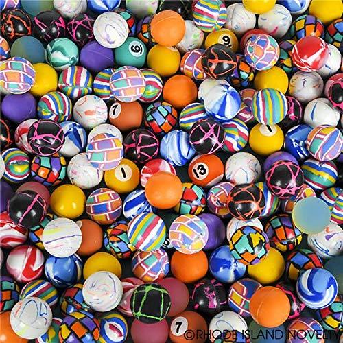 Rhode Island Novelty 27mm Assorted Bounce Balls, 250 Count