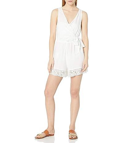 La Blanca Surplice Romper Swimsuit Cover Up