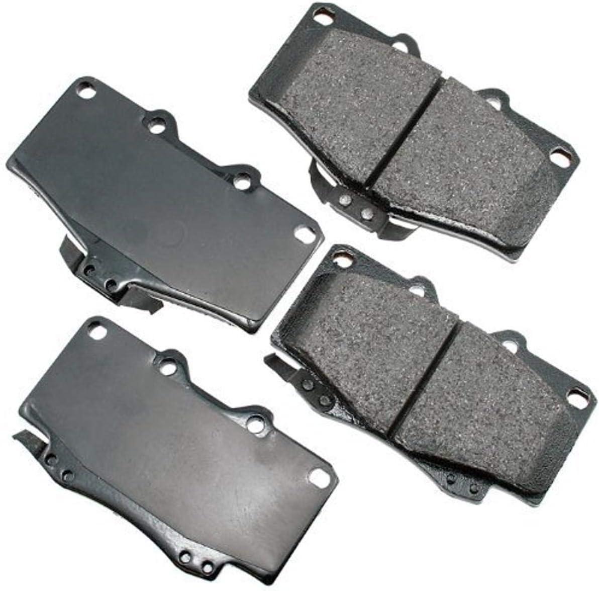 Akebono ACT436 Proact low-pricing Ultra Premium Disc Ceramic kit Pad Brake famous