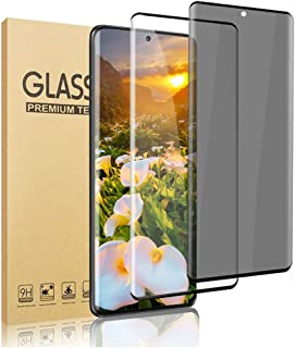 [2 Pack] Galaxy S21 Ultra Screen Protector,Privacy + HD Tempered Glass Anti-Spy Screen..