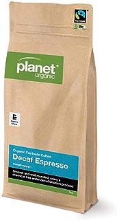 Planet Organic Espresso Decaf Espresso Ground Coffee,