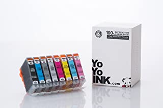 YoYoInk Remanufactured Ink Cartridge Replacement for Canon CLI-42 Pixma Pro-100 (8 Pack) for Premium Commercial Printing