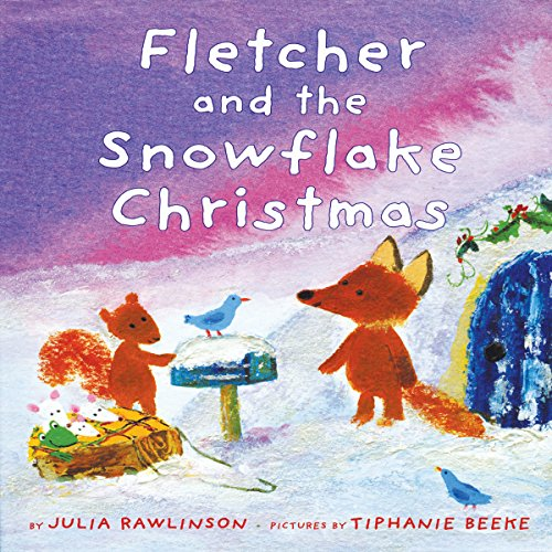 Fletcher and the Snowflake Christmas audiobook cover art