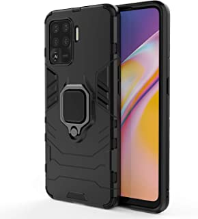 TingYR Case for Oppo A94, 360 degree Rotating Ring Holder, TPU/PC Shockproof Phone Cover, Full Body Protection Cover, Phon...