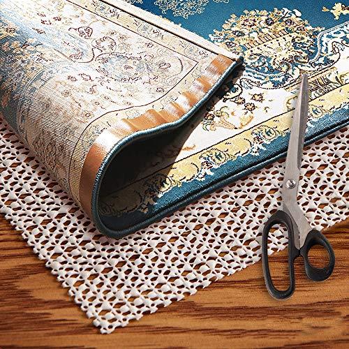 Area Rug Pad Grippers 2x6  NonSlip Rug Pad 2x6 Rug Pad Under Rug Non Skid Under Cushions Extra Grip for Hardwood Floor Rug Non Slip Pad Skid for Rug Slip Rug Non Slip Carpet Mat