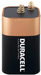 Duracell MN908 6V Non-Rechargeable Alkaline Lantern Batteries (1 Pack)