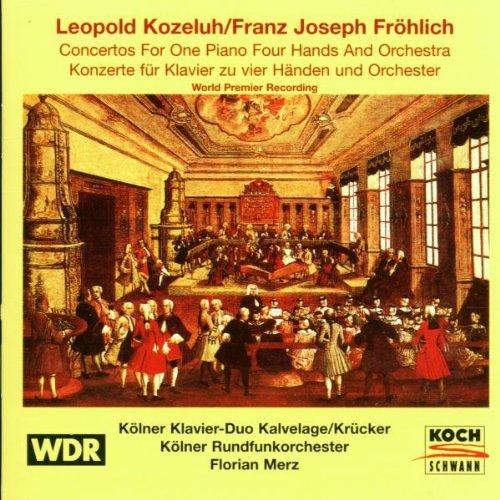 Konzerte für Klavier zu vier Händen Vol. 1