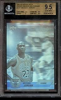 Michael Jordan Award Winner Holograms BGS 9.5 Upper Deck 1992-93 Chicago Bulls