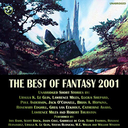 The Best of Fantasy 2001 audiobook cover art
