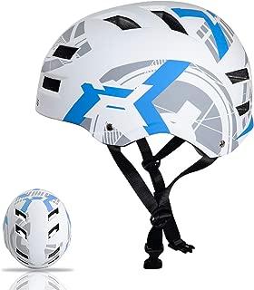 Automoness Skateboard Helmet for Kids/Youth/Adult,  CPSC & ASTM Certified Safety Skate Bike Helmet, Muti-Sport Helmet for Skating, Scooter, Bicycle, Roller, Inline, Longboard, 3 Sizes