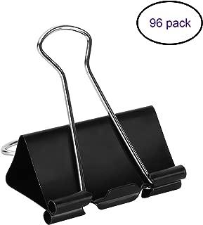 black paper clip holder
