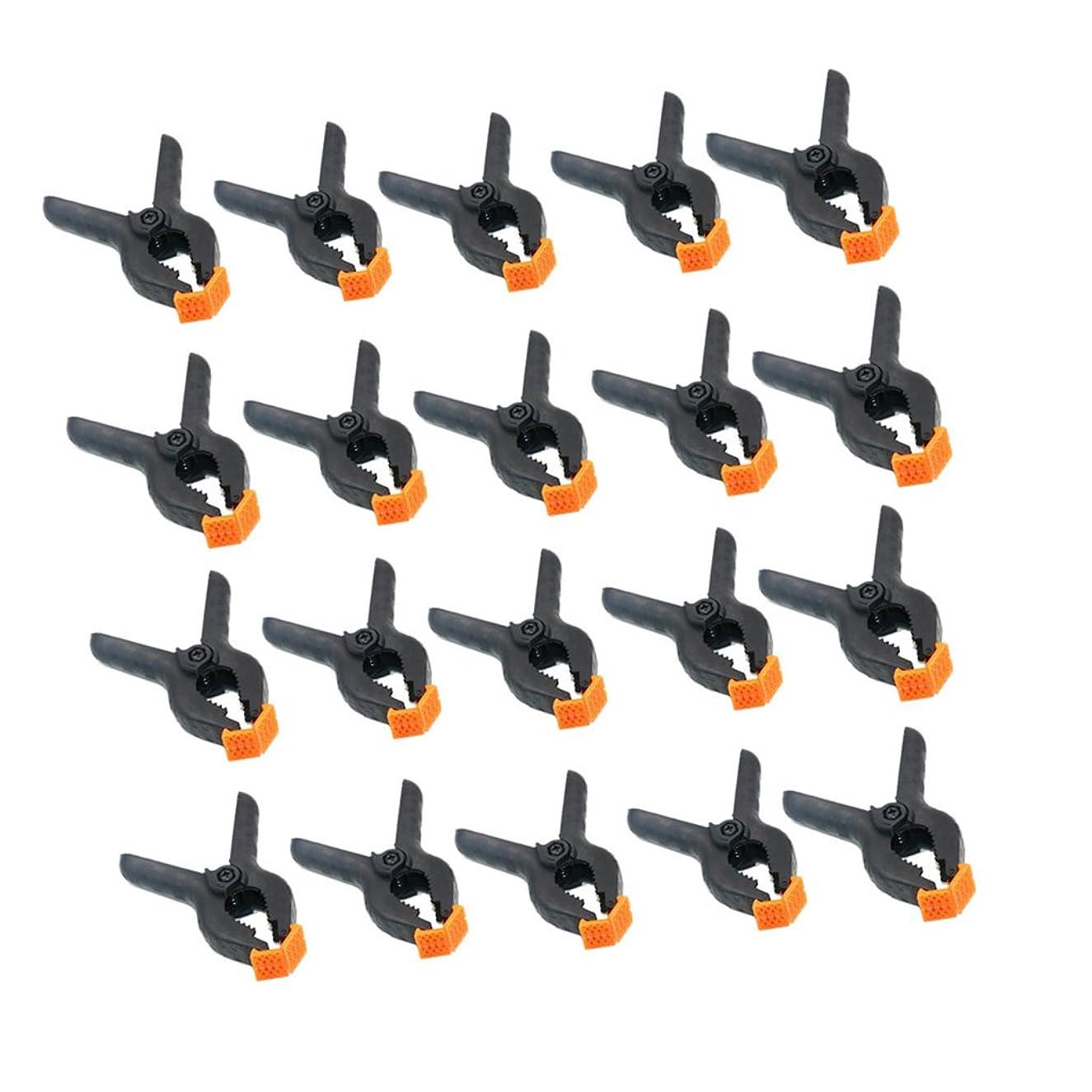 限られた保険をかけるに向かってFenteer スプリング クランプ 20個入り  ファイバークランプ  高品質