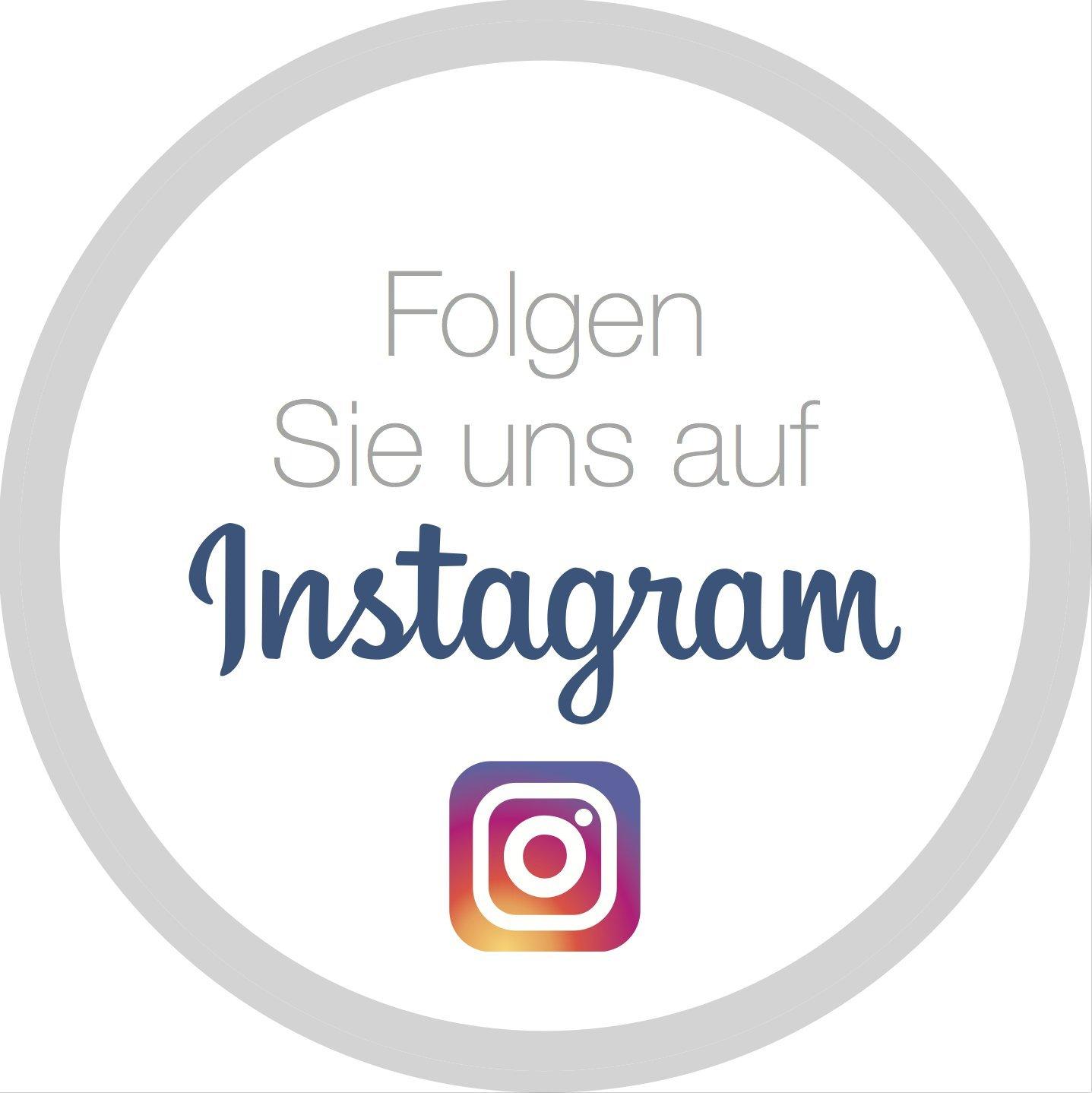 """Aufkleber - Sticker""""Folgen Sie uns auf Instagram"""": Amazon.de: Bürobedarf &  Schreibwaren"""