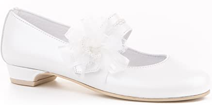 EIGHT KM Mary Jane Bailarina Zapatos Planos Vestir Fiesta de Formal Princesa Zapatos para Ni/ñas Primavera Verano Zapatos COMUNI/ÓN Zapatos