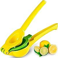 Zulay Premium Quality Metal Lemon Lime Squeezer (Manual Citrus Press Juicer)