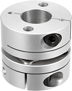 uxcell 10mm to 14mm Bore One Diaphragm Motor Wheel Flexible Coupling Joint