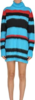 DONDUP Luxury Fashion Womens MCGLVS0000006085I Light Blue Sweater | Season Outlet