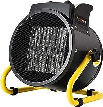 SEESEE.U Calentadores eléctricos 2KW Calentador de Ventilador Industrial con termostato Ajustable para Garaje Taller Invernadero