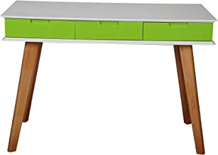 Vogue Computer Desk, Multi Color - H 110 cm x W 75 cm x D 50 cm