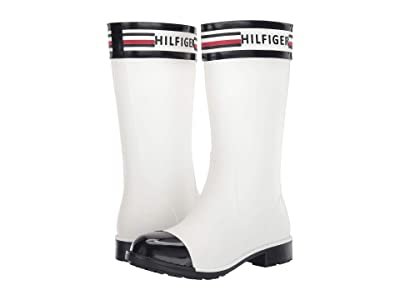 Tommy Hilfiger Talisa (White Multi Synthetic) Women