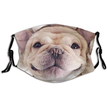 Baggage Covers Smiling White French Bulldog Outdoor Washable Protective Case
