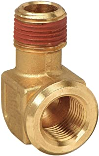 Flare to Pipe 1//8 Flare and Male Pipe 90 Degree Forged Elbow Brass Parker 149F-2-2-pk20 45 Degree Fitting Pack of 20