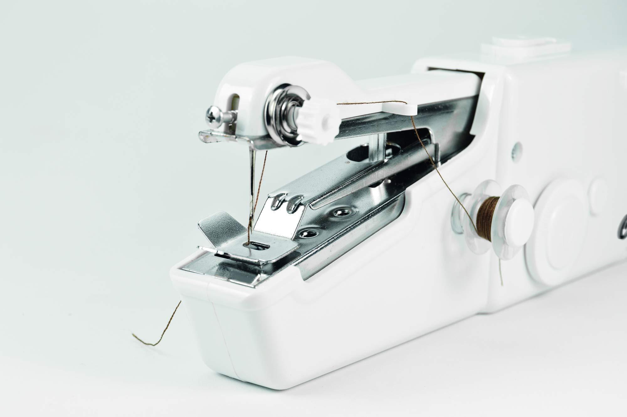 JOCCA Máquina de coser portátil de mano, Blanco, 2285: Amazon.es ...