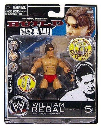 WWE Wrestling Build N' Brawl Series 5 Mini 4 Inch Action Figure William Regal