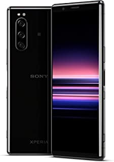 Sony Xperia 5 Dual SIM - 128GB, 6GB RAM, 4G LTE, Black