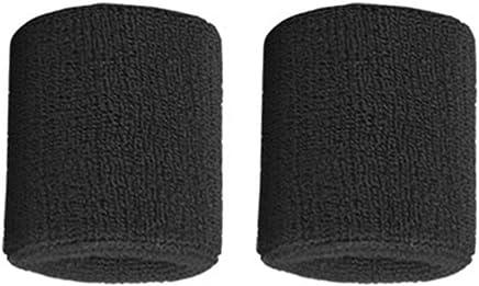 ARFUTE 1 Paire de Bracelets en Coton Pur prot/ège-Poignets /élastiques de Maintien pour Le Basket-Ball Tennis Gris