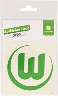 VfL Wolfsburg Aufkleber Logo grün-weiß