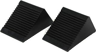Carparts Online 27902 Anhänger KFZ Unterlegkeile Bremskeile Bremsklötze schwarz Paar
