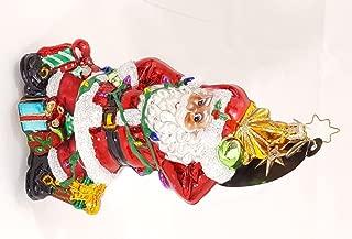 Santa's Light Plight - Christopher Radko Retired Ornament