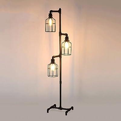 Led Decore LIMA - Lámpara de pie para salón, aluminio, 14 W ...