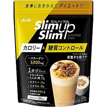 スリムアップスリム 乳酸菌+スーパーフードシェイク 黒糖きな粉ラテ 315g アサヒグループ食品