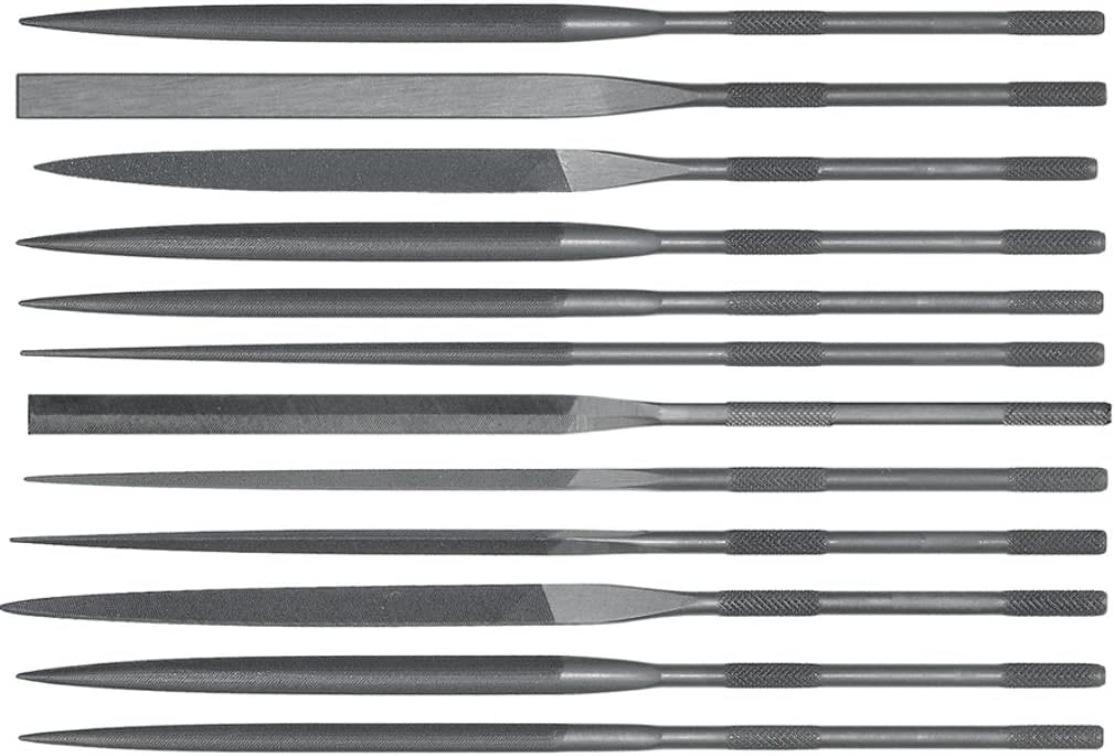 Grobet Swiss Limited time trial price Pattern Needle Files 5-1 store 2 of 12 Set Inch Cut 4