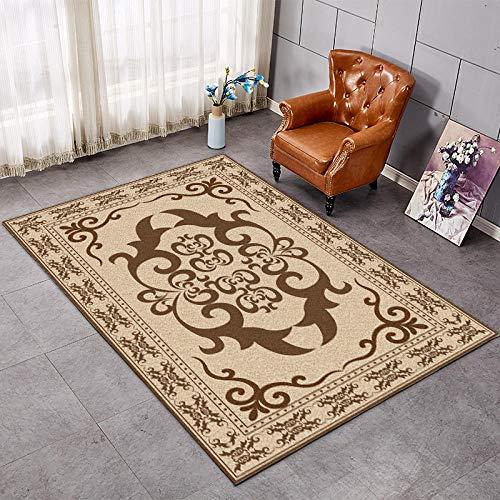 Salón alfombra mesa mesa casa simple dormitorio moderna alfombra rectangular cama cubierta lateral -1,4 x 2 m