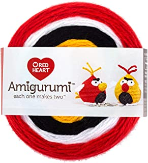 RED HEART E885. 9212  Amigurumi Yarn Bird