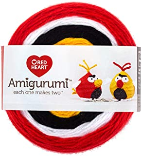 RED HEART E885. 9212 Amigurumi Yarn Bird