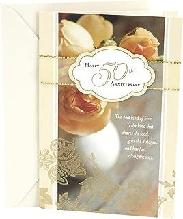 Hallmark 50th Anniversary Card (Roses)