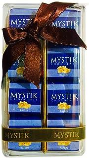 Mystik Premium - Raisin in White Chocolate - Gift Wrap - Chocolate Box - 8 Pc
