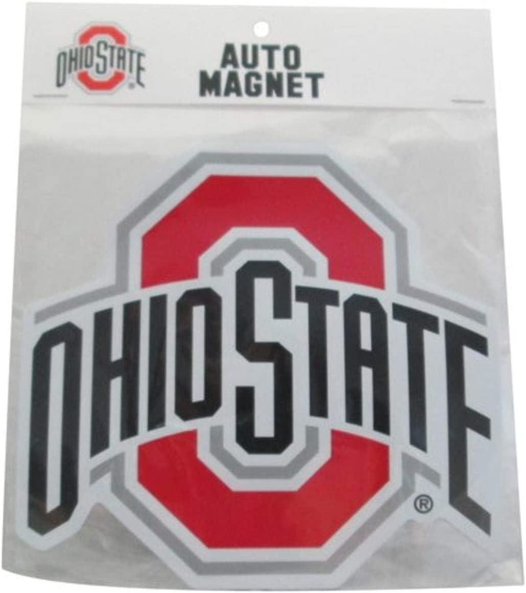 mart Victory Postcards NCAA Ohio State Logo Buckeyes Car Athletic Max 43% OFF Mag