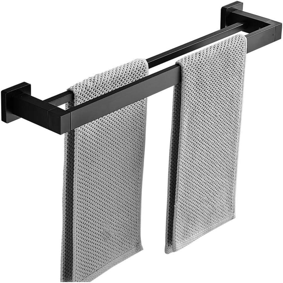 FABAX Creative Regular store Double Pole Towel T Purchase Aluminum Space Rack Anti-Rust