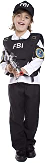 DressUpAmerica FBI Costume - Federal Agent Dress-Up for Kids - Perfect for Role-Play and Halloween