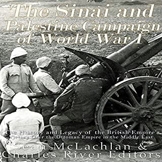 The Sinai and Palestine Campaign of World War I cover art