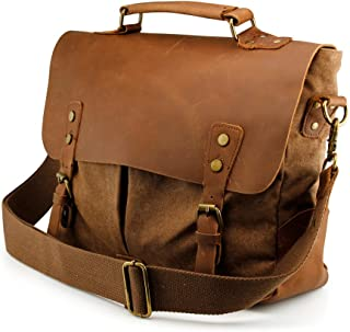 carriage leather bag