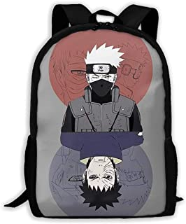 Custom Naruto Casual Backpack School Bag Travel Daypack Gift