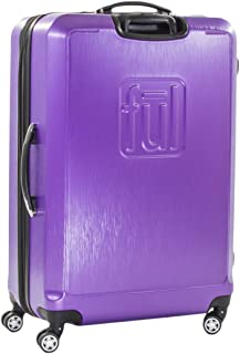 Ful Ful Hearts 21in Spinner Rolling Luggage Suitcase, Purple (Purple) - ABFL5497-510