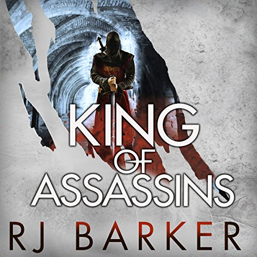 King of Assassins     The Wounded Kingdom, Book 3              By:                                                                                                                                 RJ Barker                               Narrated by:                                                                                                                                 Joe Jameson                      Length: 17 hrs and 17 mins     68 ratings     Overall 4.7